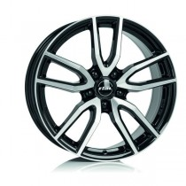 Rial Torino 16x6,5 black front polished