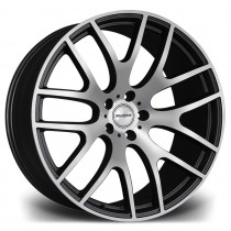 Riviera RV117 22x10 Matt Black Polished