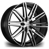 Riviera RV120 22x10,5 Black Polished
