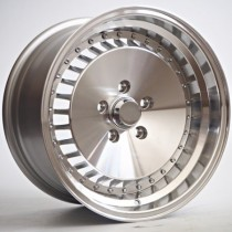 4Racing RK11 16x8,5 5x112 ET17 66,6 silver machined