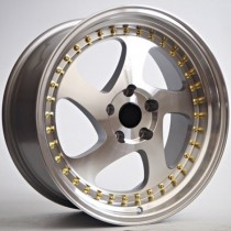 4Racing RK12 17x8  4x100 ET30 73,1 silver machined