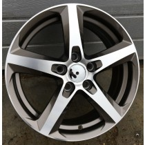 R Line ZE217 grey polished 15x6,5 5x110 ET39 65,1