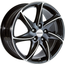 Ronal R51 16x7 black polished