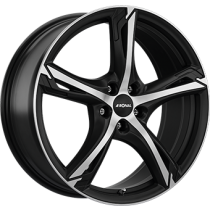 Ronal R62 18x7,5 black polished