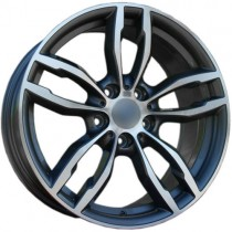 Carbonado Royal 18x8 5x120 ET35 72,6 anthracite polished
