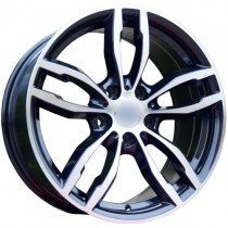 Carbonado Royal 18x8 5x120 ET35 72,6 black polished
