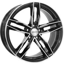 Monaco RR8M 19x8,5 black polished