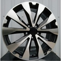 R Line RLSB507 black polished 17x7 5x114,3 ET55 56,1