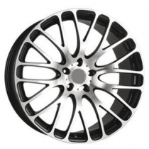 SAS Pitone 19x8,5 Gloss Black-Polished Face
