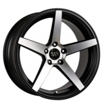 SAS Concave SP-5 19x9,5 Black Polished