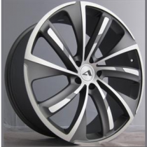 SAS Turbine 20x9 Matt Gunmetal Polished