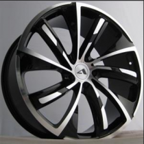 SAS Turbine 20x9 Gloss Black Polished