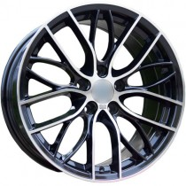 Carbonado Shine 18x8 5x120 ET30 72,6 black polished
