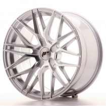 Japan Racing JR28 17x8 blank silver machined
