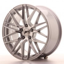 Japan Racing JR28 20x10 silver machined
