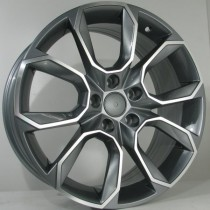 4Racing SK01 antracite polished 18x8