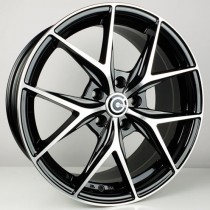Carbonado Snake 17x7,5 5x112 ET35 66,6 black polished
