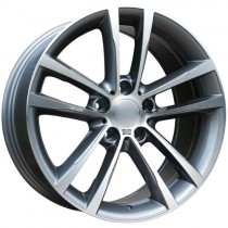 Carbonado Speed 17x8 5x120 ET30 72,6 anthracite polished