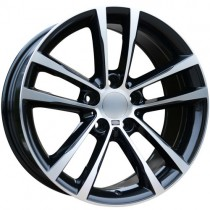Carbonado Speed 17x8 5x120 ET30 72,6 black polished