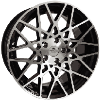 Forzza Spider2 18x8,5 5x112 ET35 66,45 black polished