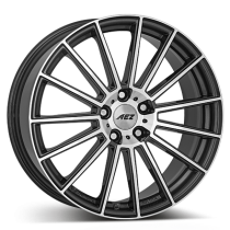 AEZ STEAM 17x7 gunmetal polished