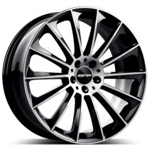 GMP Stellar Black Diamond 22x11.0 5x112