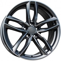 Carbonado Style 17x7,5 anthracite polished
