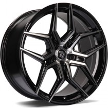 Seventy9 SV-B 18x8 black front polished