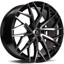 Seventy9 SV-C 18x8 black front polished