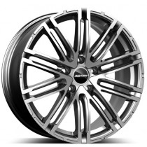 GMP Targa Anthracite Diamond 21x9.0 5x112