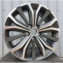 R Line PETL0246N grey polished 18x7 5x112 ET38 67,1