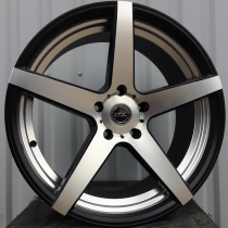 Racing Line RTL5470 black polished matt 21x10  5x130 ET43 71,6