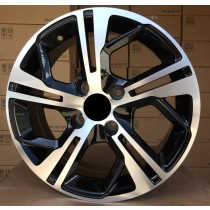 R Line CIPETL5698 black polished 15x6 4x108 ET25 65,1