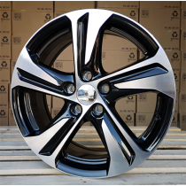 R Line TL5832NW black polished 17x7 5x114.3 ET39 67.1