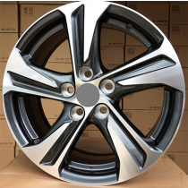 R Line TL5832NW anthracite polished 17x7 5x114.3 ET39 67.1