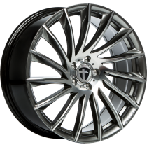 Tomason TN16 18x8 dark hyperblack polished