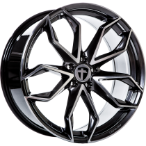 Tomason TN22 hyper black polished 22x10