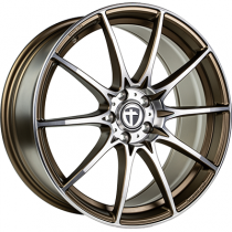 Tomason TN25 19x8,5 mattbronze polished