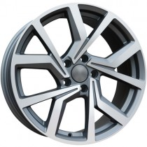 Carbonado Turn 17x7,5 5x112 ET35 57,1 anthracite polished