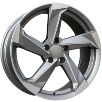 Carbonado Twist 19x8,5 5x112 ET35 66,45 anthracite polished