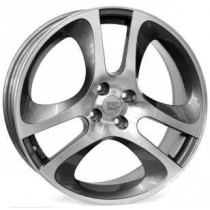WSP Italy Udine 17x7 4x98 ET39 58,1 anthracite polished