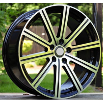 R Line V513 black polished 18x8 5x108 ET55 63.3