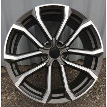 R Line V515 grey / polished 18x8 5x108 ET49 67,1