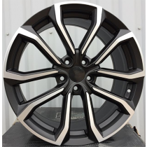 R Line V515 black polished 19x8 5x108 ET42 67.1