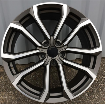 R Line V515 anthracite polished 19x8 5x108 ET42 67.1