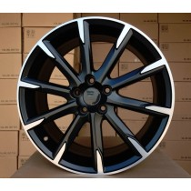R Line VOV516 matt black polished 18x8 5x108 ET49 67,1