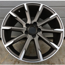 R Line V516 anthracite polished 18x8 5x108 ET49 67,1