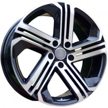Carbonado Velocity 18x8 5x112 ET35 57,1 black polished