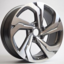4Racing Versa 17x7,5 5x114,3 ET45 64,1 anthracite polished