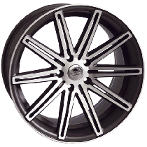 Forzza Vertin 18x8 5x112 ET35 66,5 black polished